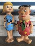 60s Vintage Knickerbocker Wilma Flintstone Doll (J792)