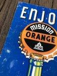 画像6: Vintage Mission Orange Sign (J795)