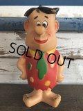 60s Vintage Knickerbocker Fred Flintstone Doll  (J791)