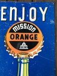 画像7: Vintage Mission Orange Sign (J795)