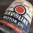 画像7: Vintage Oil can HAVOLINE Motor Oil 5 U.S. GALLONS (J805)