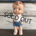 Vintage E.Mobley 1956 Rubber Doll Boy (J818)