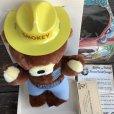 画像8: 60s Vintage IDEAL Smokey The Bear 12' Plush Doll with Box (J843)