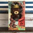 画像1: 60s Vintage IDEAL Smokey The Bear 12' Plush Doll with Box (J843) (1)