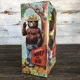 画像4: 60s Vintage IDEAL Smokey The Bear 12' Plush Doll with Box (J843)