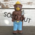 70's Vintage Smokey The Bear Dakin Mini Doll (J836)
