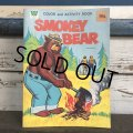 Vintage Smokey The Bear Color and Activity Book (J840)