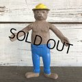 60s Vintage Smokey The Bear Bendable Figure (J840)