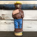 60's Vintage Smokey The Bear Soaky Bobble Bath bottle (J838)