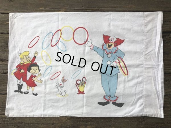 画像2: 70s Vintage Bozo The Crown Pillow Case (J855)