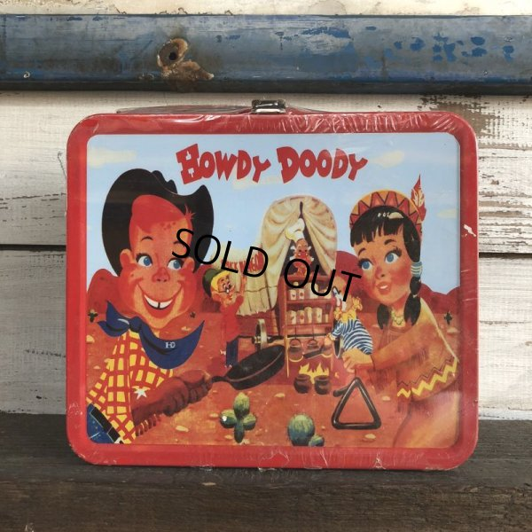 画像1: 90s Vintage Howdy Doody Lunch Box (J869)