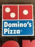 画像8: Vintage Domino's Pizza Letters Sign (J875)