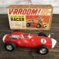 60s Vintage Mattel V-RROOM! Guide-Whip Racer (J881)