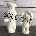 70s Vintage Pillsbury Doughboy Poppin Fresh & Poppie Fresh Set (AL7112)