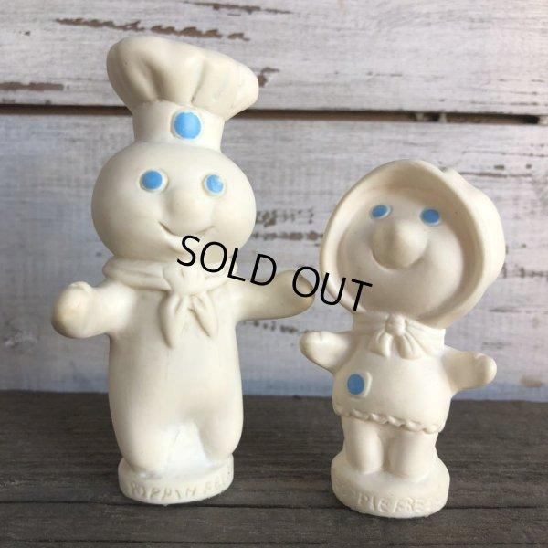 画像1: 70s Vintage Pillsbury Doughboy Poppin Fresh & Poppie Fresh Set (AL7112)