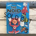 80s Vintage Domino Pizza NOID Bendable Figure MOC (J894)