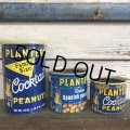 Vintage Planters Mr.Peanuts Can 6 1/2oz (J905)
