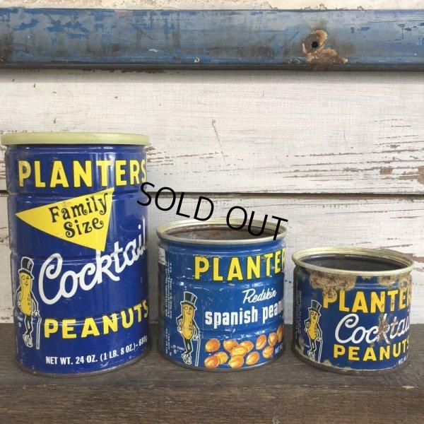 画像1: Vintage Planters Mr.Peanuts Can 6 1/2oz (J905)