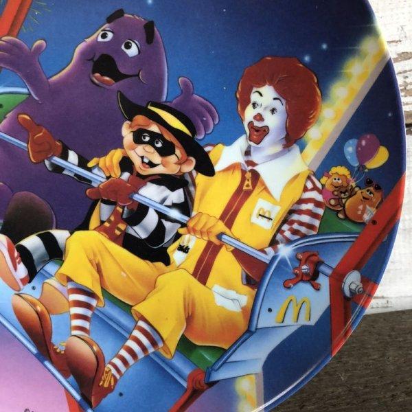 画像3: 90s Vintage McDonalds Plastic Plate Fireworks (J966)