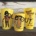70s Vintage McDonalds Ronald McDonald Plastic Cup (J959)