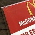 画像7: 70s Vintage MCDONALDS Playland Rules & Regulations Sign  (J948)