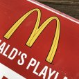 画像8: 70s Vintage MCDONALDS Playland Rules & Regulations Sign  (J948) (8)