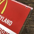 画像9: 70s Vintage MCDONALDS Playland Rules & Regulations Sign  (J948)