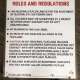 画像5: 70s Vintage MCDONALDS Playland Rules & Regulations Sign  (J948) (5)
