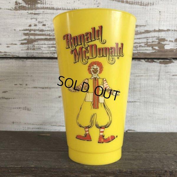 画像2: 70s Vintage McDonalds Ronald McDonald Plastic Cup (J959)