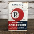 Vintage Oil Can Pacific Antifreeze One U.S. Gallon (J950)