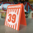 画像3: Whataburger Stores Ordering Table Tent #39 (J965)  (3)