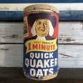 Vintage Quick Quaker Oats Cardboard Container (J961)