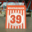 画像1: Whataburger Stores Ordering Table Tent #39 (J965)  (1)