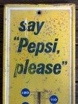 画像4: Vintage Pepsi Thermometer Sign SAY PEPSI PLEASE (J969)