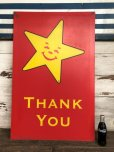 画像1: Vintage Original Carl's Jr Drive-thru Sign THANK YOU (J982) (1)