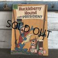 60s Vintage Comic Huckleberry Hound For President (S012)