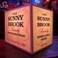画像1: Vintage Old Sunny Brook Whiskey Lighted BAR Sign (S016) (1)