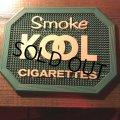 60s Vintage KOOL Cigarettes Advertising Money Tray (S022)