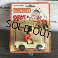 80s Vintage Matchbox Popeye Olive's Convertible (S025)
