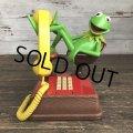 80s Vintage Telephone Kermit (S031)
