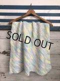 Vintage U.S.A Baby Knit Blanket Rug 70x70 cm (S076)