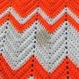 画像5: Vintage U.S.A Knit Blanket Rug 190x135 cm (S068)