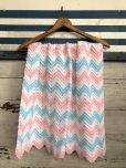 画像1: Vintage U.S.A Baby Knit Blanket Rug 73x98 cm (S073)  (1)