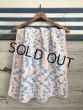 Vintage U.S.A Baby Knit Blanket Rug 90x70 cm (S078)
