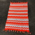 画像3: Vintage U.S.A Knit Blanket Rug 190x135 cm (S068)