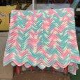 画像2: Vintage U.S.A Baby Knit Blanket Rug 100x90 cm (S075)  (2)