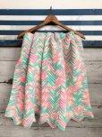 画像1: Vintage U.S.A Baby Knit Blanket Rug 100x90 cm (S075)  (1)