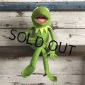 70s Vintage FP Muppets Kermit Plush doll (S090)