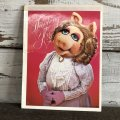 80s Vintage Muppets Miss Piggy Notepad (S088)