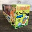 画像4: 60s Vintage The Flintstones Bowling Game Set (S114)